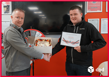 August 2018 - Employee of the month - Niall Carty